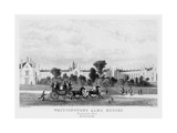 Whittington's Almshouses, Highgate Hill, London, 19th Century Giclee Print by J Davies