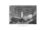 Interior of Croydon Palace, Surrey, 1829 Giclee Print by James Lambert