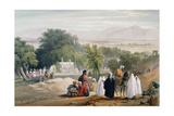 Tomb of Emperor Babur, Kabul, First Anglo-Afghan War 1838-1842 Giclee Print by James Atkinson