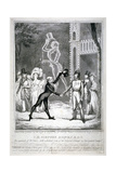 Ceremony in Vauxhall Gardens, Lambeth, London, 1833 Giclee Print by Isaac Robert Cruikshank