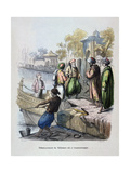 Mahomet Ali Arriving in Constantinople, C1847 Giclee Print by Jean Adolphe Beauce