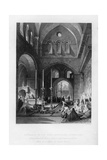 The Entrance to the Holy Sepulchre, Jerusalem, Israel, 1841 Giclee Print by J Redaway