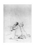 L'Imploration a La Grotte, C1870-1930 Lámina giclée por Jean Louis Forain