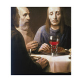 The Supper, Mid-Late 17th Century Giclee Print by Jan Vermeer