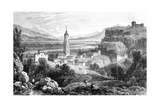 Fraga, Spain, 1823 Giclee Print by James Duffield Harding