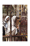 Jesus Teaching in the Synagogue, C1897 Giclee Print by James Jacques Joseph Tissot