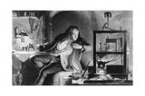 James Watt as a Young Man, C1769 Giclee Print by James Scott