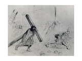 Christ Carrying the Cross, 1925 Giclee Print by Jean Louis Forain
