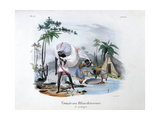 Launderers, 1828 Giclee Print by Jean Henri Marlet