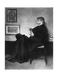 Thomas Carlyle, Scottish Essayist, Satirist, and Historian, C1873 Giclee Print by James Abbott McNeill Whistler