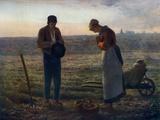 The Angelus, 1857-1859 Giclée-tryk af Jean Francois Millet