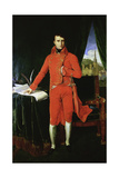 Napoleon Bonaparte First Consul, 1803-1804 Giclee Print by Jean-Auguste-Dominique Ingres