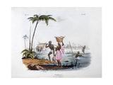 Fisherman, 1828 Giclee Print by Jean Henri Marlet