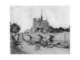 Notre Dame, C1870-1920 Giclee Print by Jean Francois Raffaelli