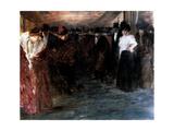 Music-Hall, 1895-1896 Lámina giclée por Jean Louis Forain