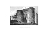 Land Gate, Rye, East Sussex, 1829 Giclee Print by James Lambert