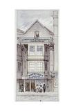 Raymond's City Pie House, Fleet Street, London, C1820 Giclee Print by James Findlay
