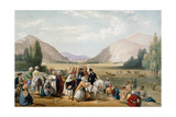 Surrender of Dost Mohammad Khan, Kabul, First Anglo-Afghan War, 1838-1842 Giclee Print by James Atkinson