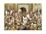 Jesus Raising the Widow's Son at Nain, C1890 Giclee Print by James Jacques Joseph Tissot