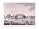 East Front of Buckingham House, Westminster, London, 1796 Giclee Print by James Miller