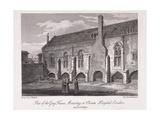 Christ's Hospital, London, 1812 Giclee Print by James Lambert