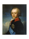 Grand Duke Pavel Petrovich of Russia, Late 18th Century Giclee Print by Jean Louis Voille