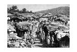 The Beni-Ramasses Quarter, Constantine, Algeria, 1895 Giclée-tryk af Ivan Pranishnikoff