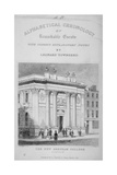 Gresham College, Basinghall Street, City of London, 1845 Giclee Print by James Tingle