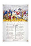 Fracas Royal Extraordinaire, 1820 Giclee Print by Isaac Robert Cruikshank