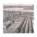 Panoramic View of London, 1720 Giclee Print by Johannes Kip