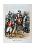 Mehmet Ali Proclaimed Viceroy, 1805 Giclee Print by Jean Adolphe Beauce