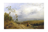 A Peep at the Metropolis from Hampstead Heath, 1841 Giclee Print by James Baker Pyne