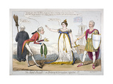The Secret Insult! or Bribery and Corruption Rejected!!!, 1820 Giclee Print by Isaac Robert Cruikshank