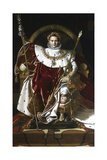 Napoleon I on the Imperial Throne, 1806 Giclee Print by Jean-Auguste-Dominique Ingres