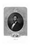 President Abraham Lincoln, American Politician, 1862-1867 Giclee Print by JC McRae