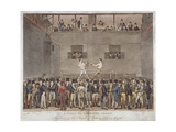 A Visit to the Fives Court, 1822 Giclee Print by Isaac Robert Cruikshank