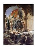 Jean Joseph Benjamin Constant - The Entry of Mehmet II into Constantinople, 1876 Digitálně vytištěná reprodukce