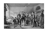 Queen Victoria Visiting the Wounded, 1850S Giclee Print by Jerry Barrett