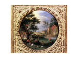 Gathering Apples, 1630S Giclee Print by Jan Brueghel the Younger