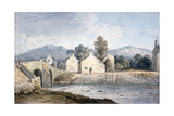 Entrance into Keswick, Cumberland, 19th Century Giclee Print by James Duffield Harding
