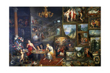 Allegory of Sight and Smell, C1590-1625 Giclee Print by Jan Brueghel the Elder