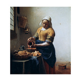 The Milkmaid, C1658 Giclee Print by Jan Vermeer
