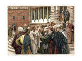 The Tribute Money, C1890 Giclee Print by James Jacques Joseph Tissot