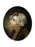 Head of a Girl, 18th Century Giclee Print by Jean-Baptiste Greuze