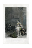 Cleopatra and Caesar (Anthony and Cleopatr), 19th Century Giclee Print by JC Armytage