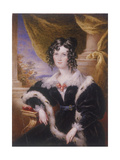 Mary Ann Paton, 1831 Giclee Print by James Warren Childe