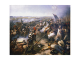 Battle of Fleurus, June 1794 Giclee Print by Jean-Baptiste Mauzaisse