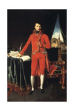 Napoleon Bonaparte as First Consul of France, 1803-1804 Giclee Print by Jean-Auguste-Dominique Ingres