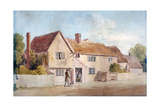 Cottages at Chadwell, Essex, 19th Century Giclee Print by James Duffield Harding