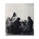 Breaking of the Bread, 1925 Giclee Print by Jean Louis Forain